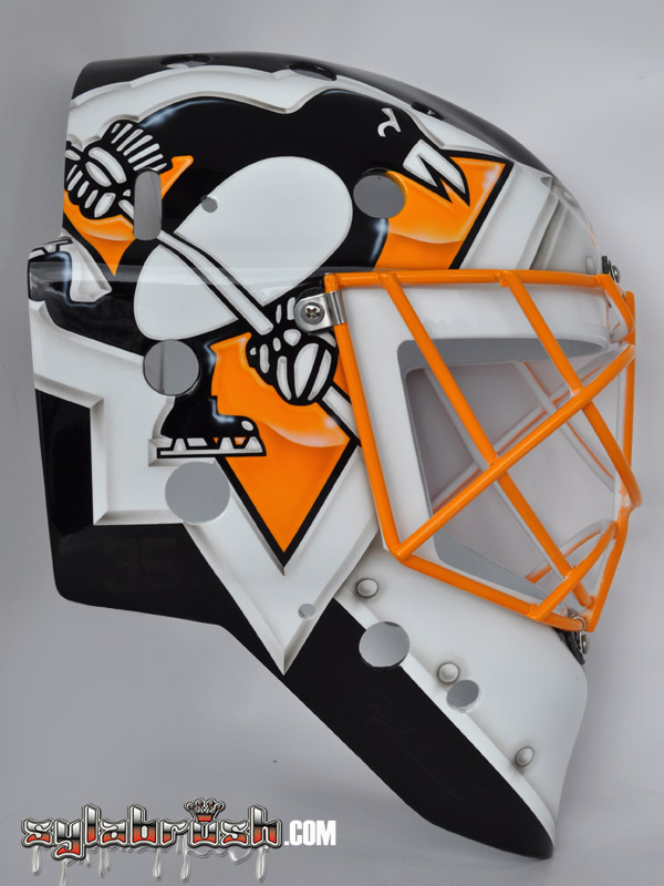 <p>This mask design is inspired of one of Tom Barrasso's mask.</p>